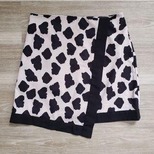 Missguided Animal Print Mini Skirt